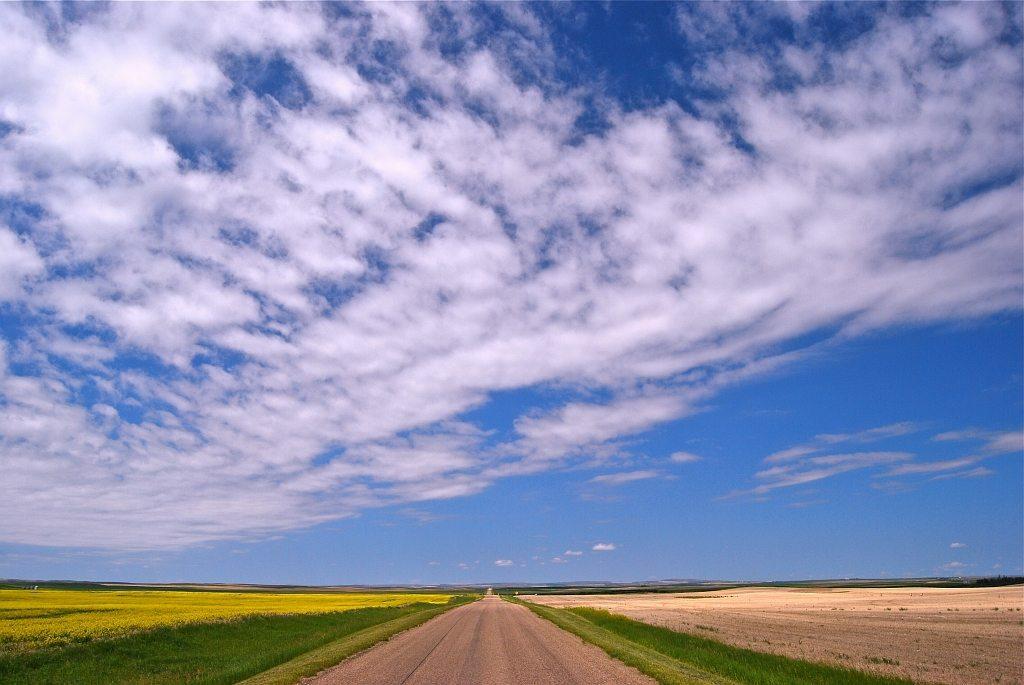 Canadian Badlands - Straße in die Endlosigkeit - 5